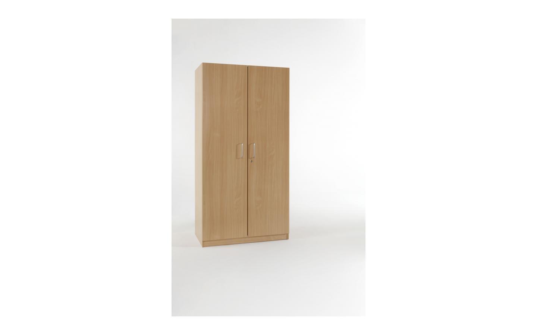 Kleider-/Wäscheschrank Front mit 2 Türen