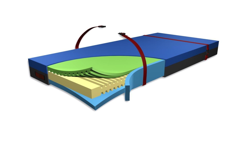 Matratze B-R Foam Soft EVAK