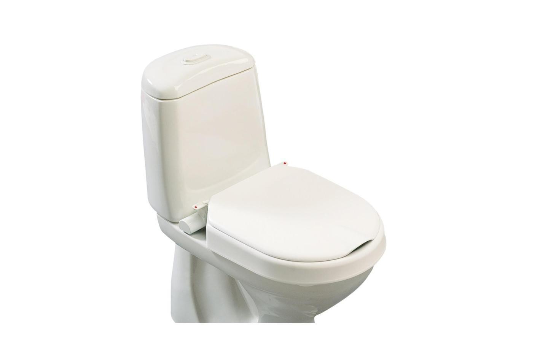 Toiletten-Aufsatz Loo Fix / ohne Armlehnen Sitzerhöhung 6 und 10 cm