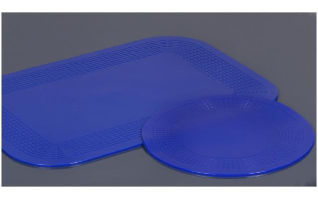 Antirutsch-Auflage blau verschiedene Masse