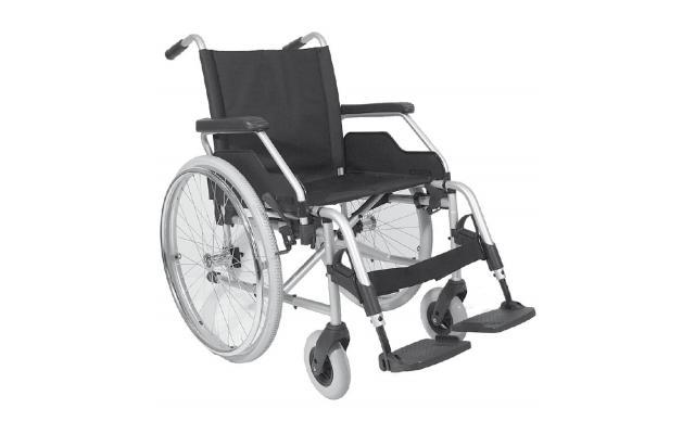 Rollstuhl Budget ohne Begleitpersonenbremse