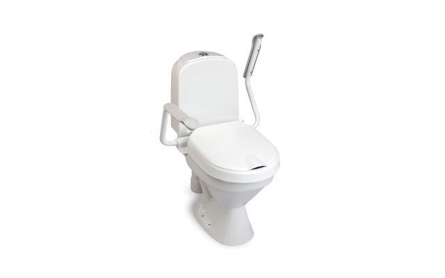 Toiletten-Aufsatz Loo Fix / mit Armlehnen Sitzerhöhung 6 oder 10 cm