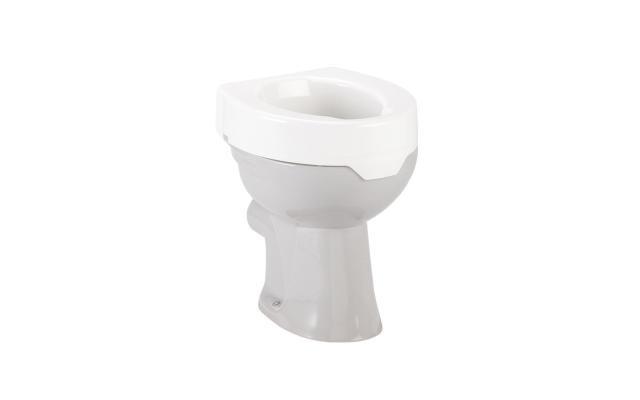 Toiletten-Aufsatz ohne Deckel
