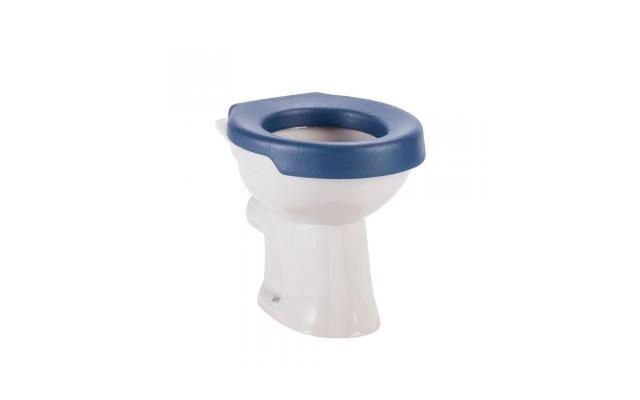Toiletten-Sitzpolster blau