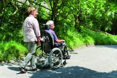 Schubgerät Viamobil V25  Schiebe- und Bremshilfe